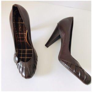 BCBGirls | Brown Leather Heels